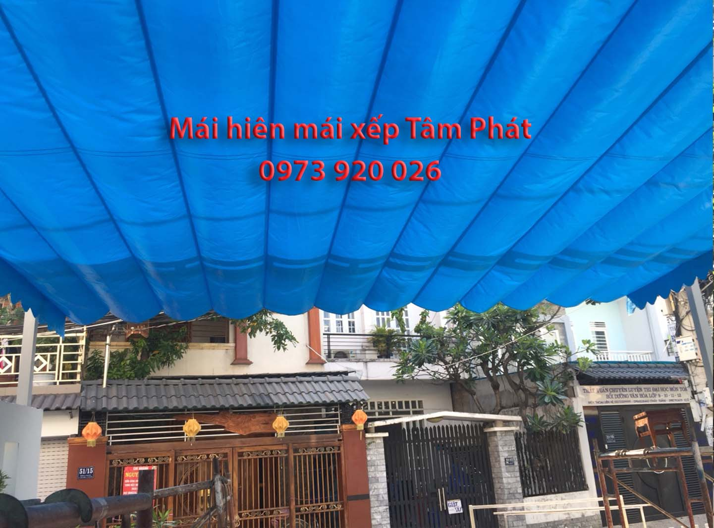 Mai hiên đẹp giá rẻ Đồng Nai